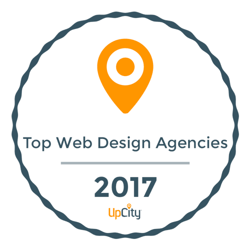 top web design agencies 2017 upcity seal