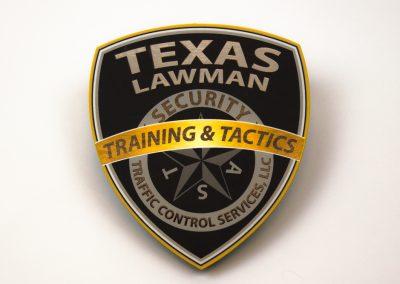 Texas Lawman Sticker