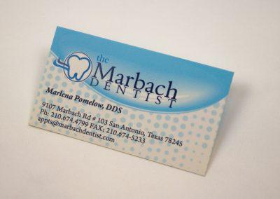 Marbach Dentist Business Card