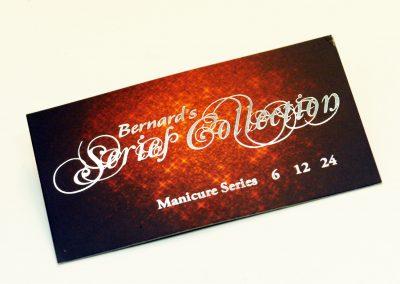 Bernard's Series Collection Card