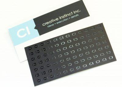 Creative Instinct Business Card