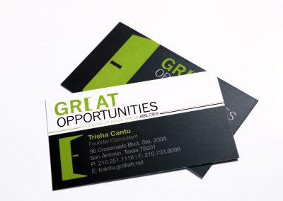 Great Opportunities Business Card