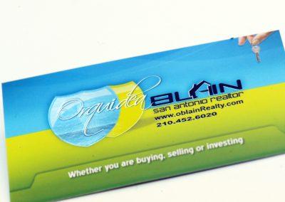 Orquidea Blain Business Card