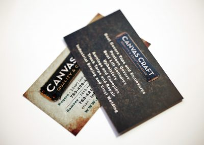 Canvas Craft Business Card