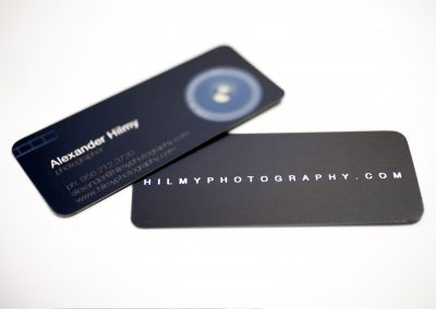 Hilmy Photography Business Card