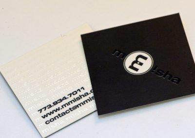 Misha Square Business Card
