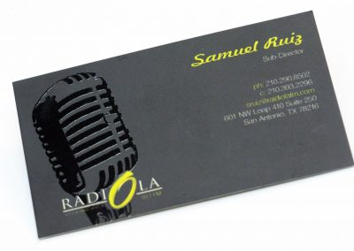 Radiola Business Card