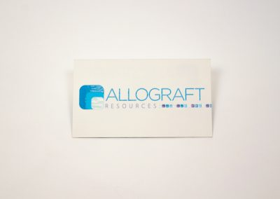 Allograft Resources Business Card
