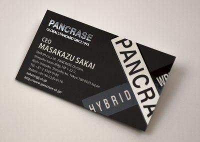Pancrase Business Card