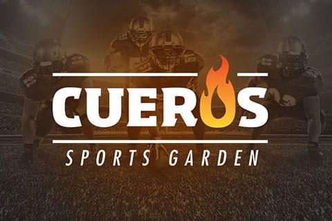 cueros sports garden banner