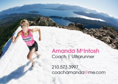 Coach Amanda Business Card