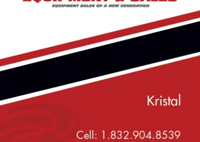 Fidelity Equipment & Sales Business Card