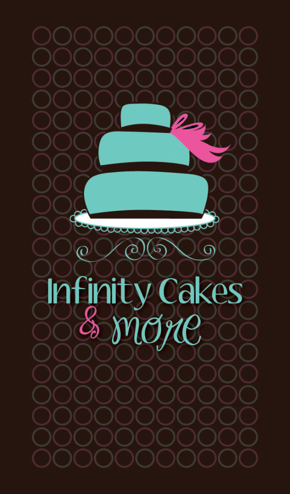 Infinity Cakes Rack Business Card