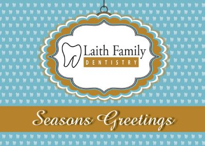 Laith Family Dentistry Christmas Card
