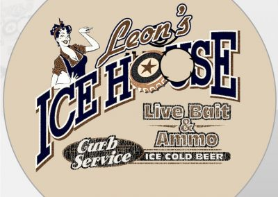 Leon's Ice House Bottle Cap