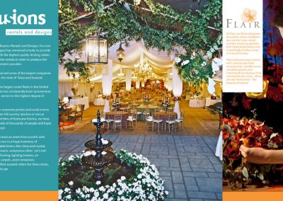 Illusions Rentals and Designs Brochure