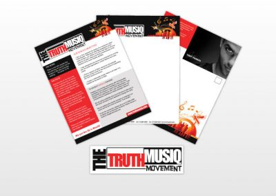 The Truth Musiq Movement Branding