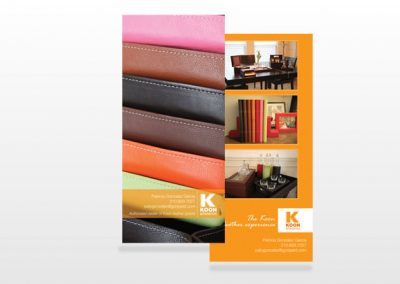 Koon Rack Card