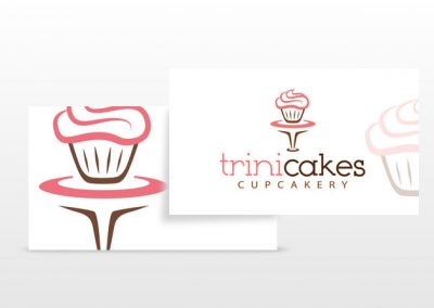 Trini Cakes Business Cards