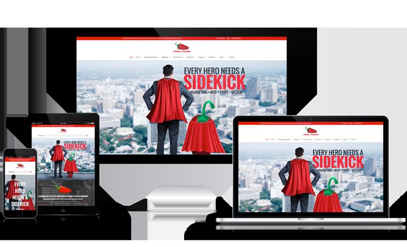 Web Design - WordPress Design - Chile Media - San Antonio, Texas