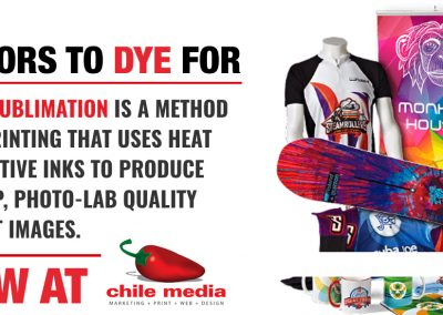 dye sublimation definintion