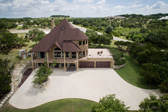 aerial-view-house photography