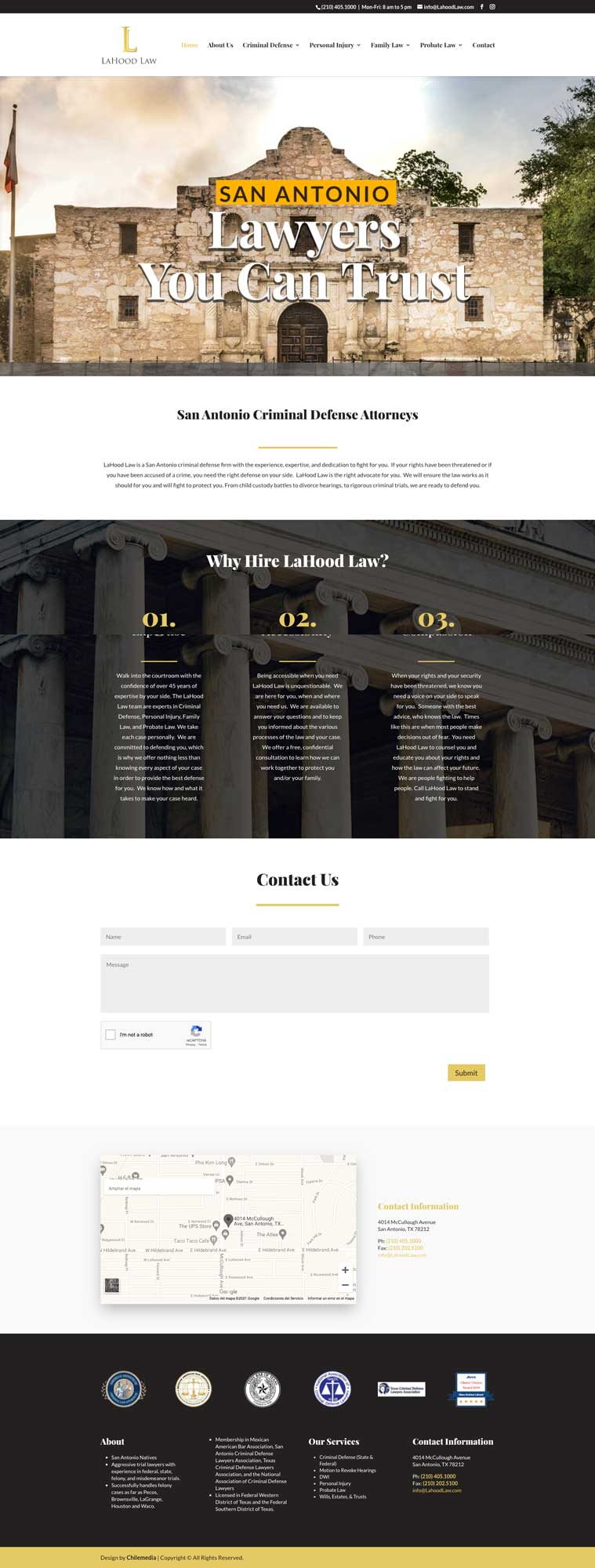 lahood law homepage