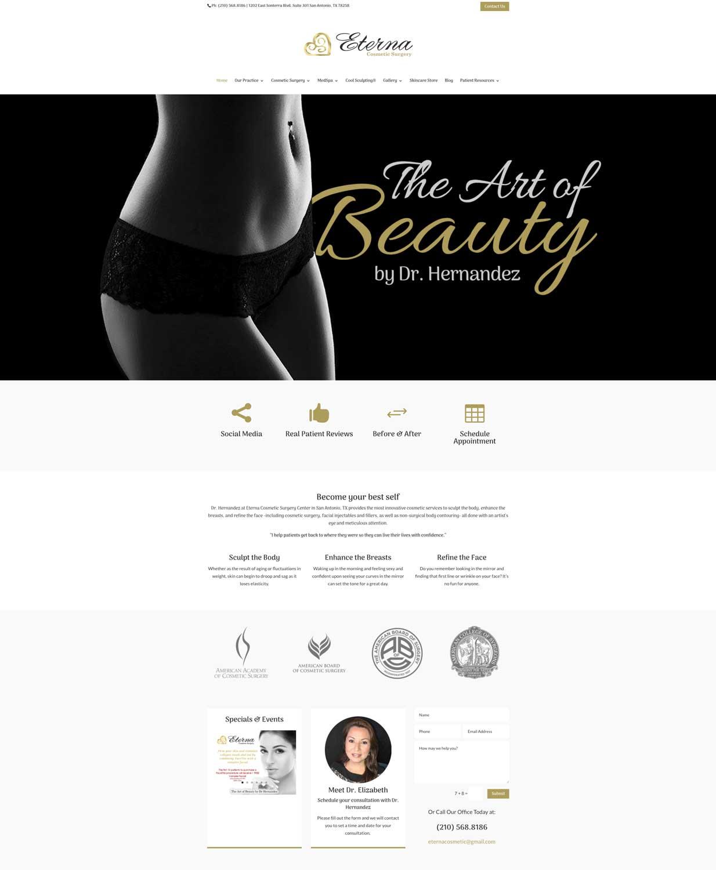 eternal-homepage-design