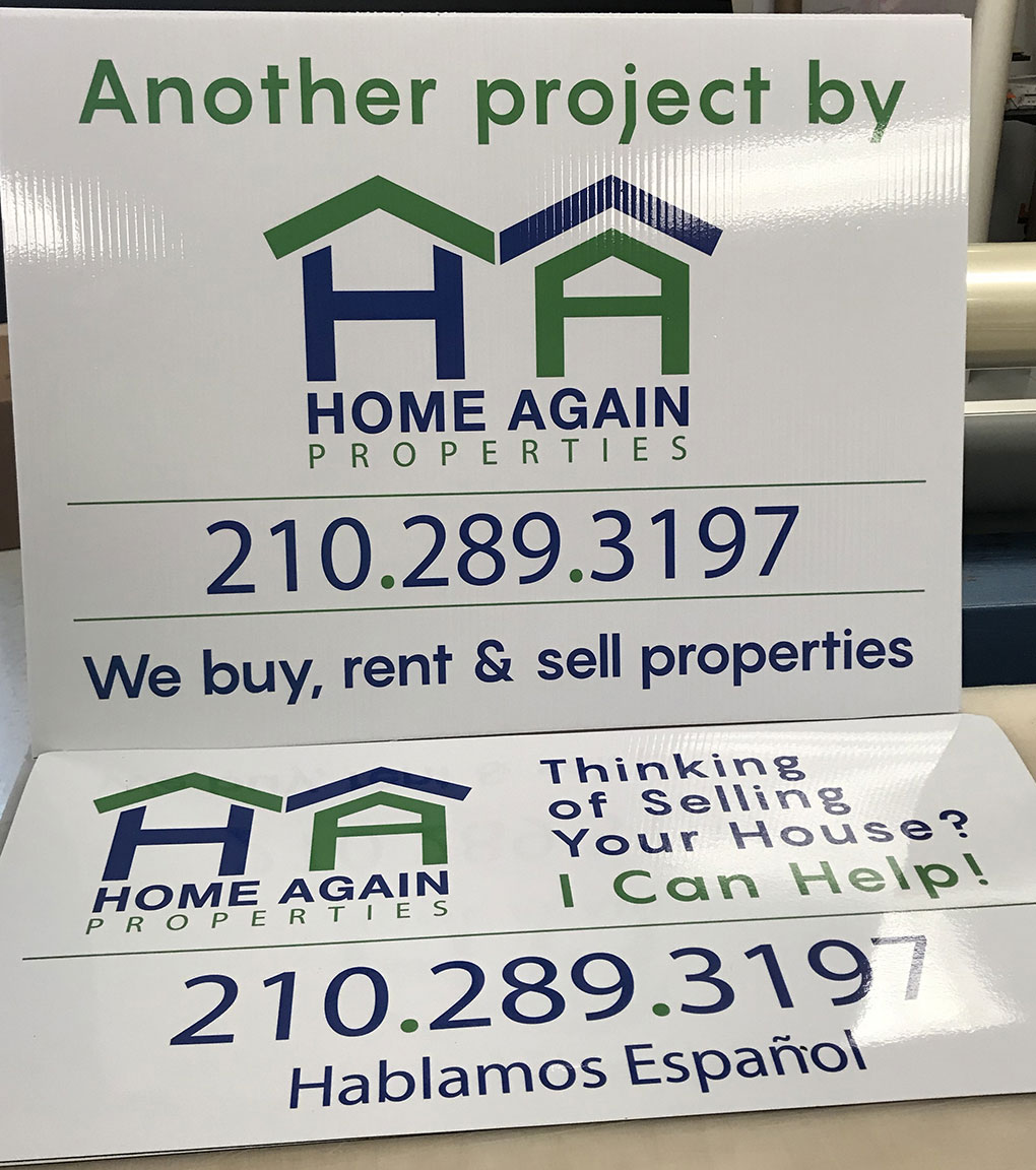 home-again-properties-coreplast-sign