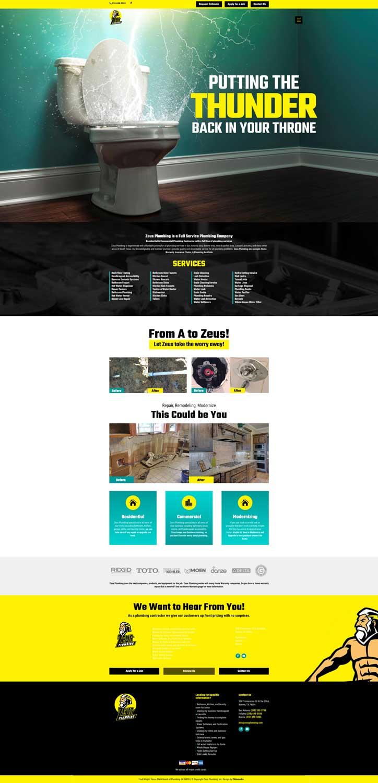 zeus-plumbing-homepage-web-design