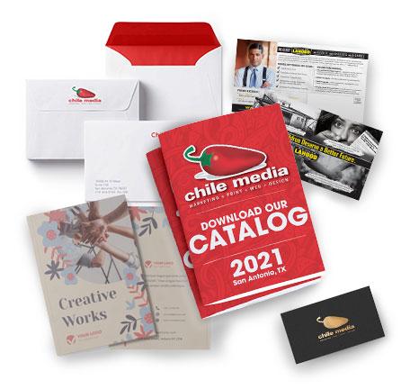offset print menu postcard catalog business card envelope greeting card