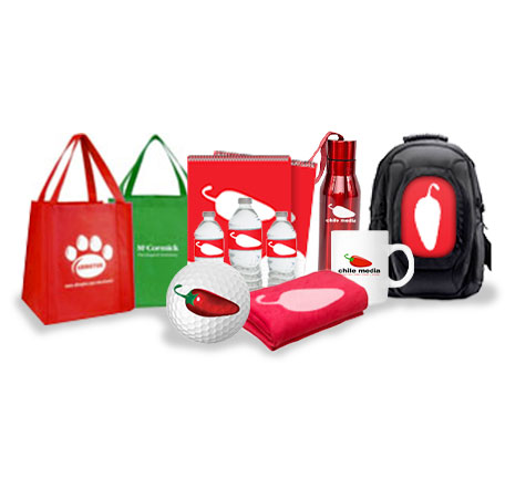 promotional products bags golf balls bottles cups backpacks blankets